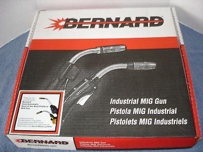 Bernard Semi-automatic Mig Gun Q4025ae8imc 25 400amp Miller Wire Feed Welder