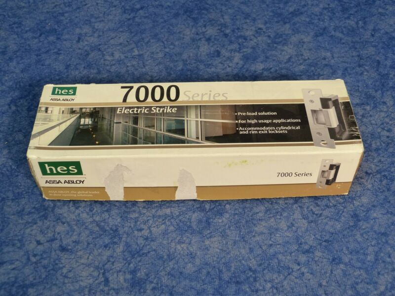 Assa Abloy HES Electric Strike Body w/o Faceplate option SB:7000-12D