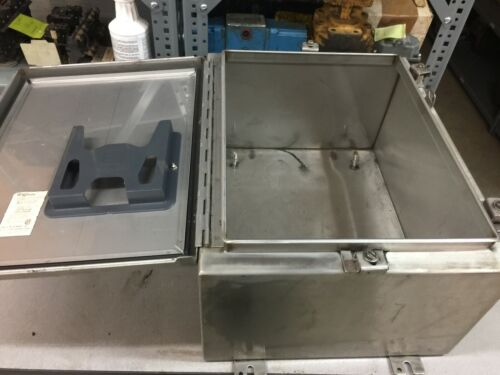 New No Box Hoffman Stainless Steel Enclosure 20 X 16 X 10  /  A-159