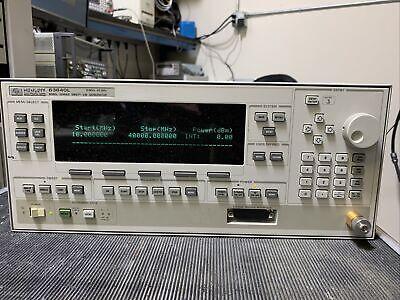 Agilent 83640l 40ghz Sweep Generator Nice