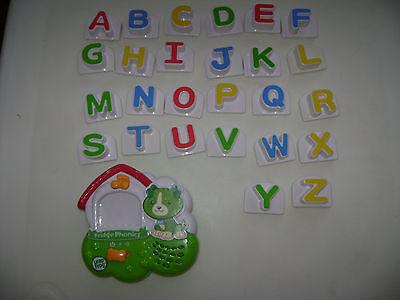Leap Frog Fridge Phonics Magnetic Alphabet SCOUT Dog Letters ABC Complete A-Z