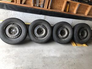 2003 Chevy Malibu rims and winter tires