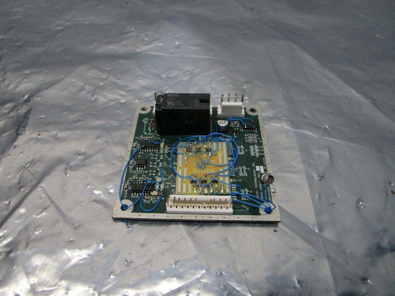 Asyst 3200-1222-01 PCB, FAB 3000-1222-01, 101215