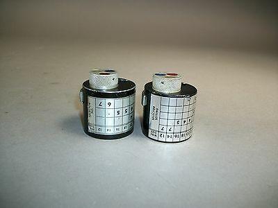 Lot Of 2 Daniels Dmc Turret Head Positioner N50 K