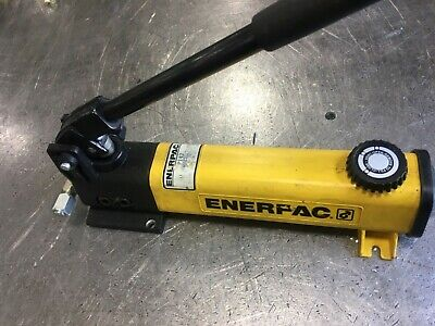 Enerpac P142 Hydraulic Manual Hand Pump 10000 Psi