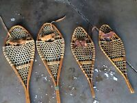2 sets of Snow Shoes