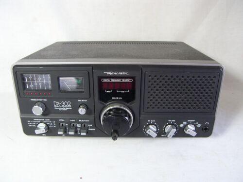 Realistic DX-302 Quartz Synthesized Ham/Shortwave Receiver AC & Battery Radio
