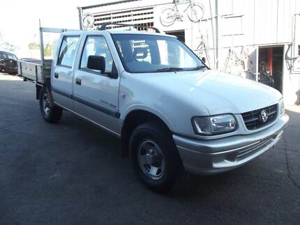 02 Holden Rodeo Dual Cab UTE V6, 5SPD, TOW BAR, RWC,  $2799 Kingston Logan Area Preview