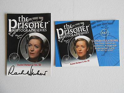 THE PRISONER RACHEL HUNTER AURO CARD AND REDEMPTION CARD