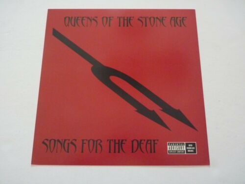 Queens of the Stone Age Songs for Deaf Promo LP Record Photo Flat 12x12 Poster