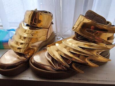 Jeremy Scott Adidas Gold 3.0 Trainers Authentic Size 6
