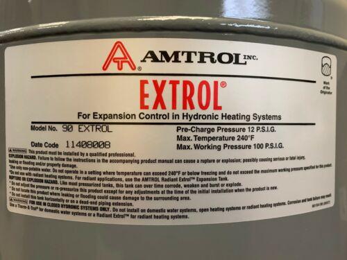 AMTROL EX-90 EXTROL EXPANSION TANK