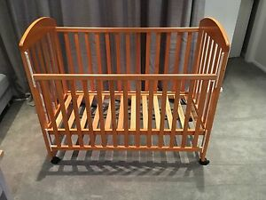 Free wooden cot Belrose Warringah Area Preview