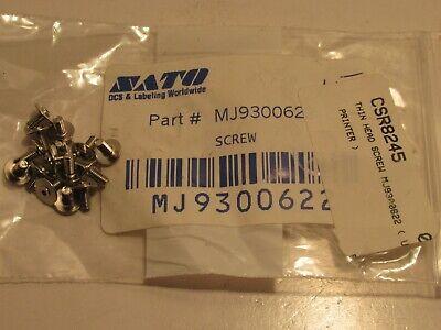 (PACK OF 15) SATO MJ9300622 THIN HEAD SCREW NEW
