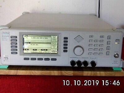 Anritsu 68369anv W 2b 11 10 Mhz - 40 Ghz Synthesized Signal Generator