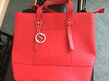 Charlie Brown - Red - Tote handbag Beaumaris Bayside Area Preview