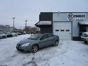 2008 Pontiac G6 SE fresh safety, low kms, clean inside and out