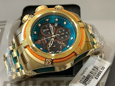 25308 Invicta Reserve JT HOF Bolt Zeus Ltd Ed 53mm Quartz Chrono Bracelet Watch