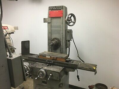 Parker-majestic No. 2 Manual Hand Feed 618 6 X 18 Surface Grinder - Clearance