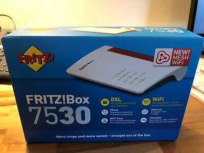 Fritz!Box 7530 Router works with ADSL / ADSL2+ / VDSL