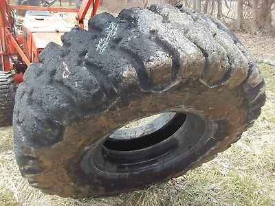 18.00 X 25 Bridgstone 36 Ply Used Loader Tire Industrial