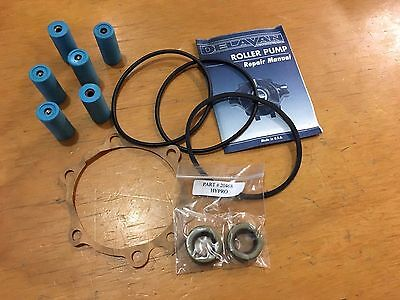 New Delavan Roller Pump Repair Kit 18768 Replacement Parts