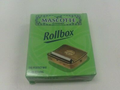 MASCOTTE COMME METAL ROLLBOX ROLLING MACHINE FOR CIGARETTE PAPERS