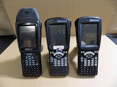 Psion Teklogix Workabout Pro 2 Pro3 1 Hand Scanners Lot Of 3