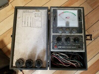 Crt Tubes Tester Dynascan Bk 445 Good For Tv And Radio Repair Tool.