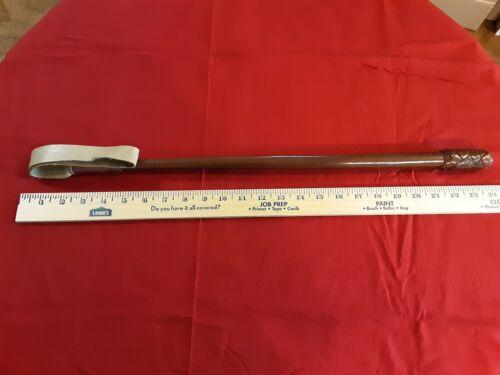 Vintage Obsolete RCMP Leather Riding Crop, A Tool Of Horsemanship And Status - $450.00