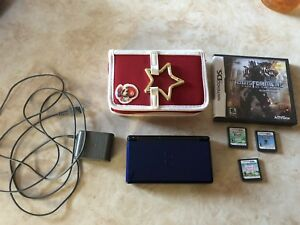 Nintendo DS Lite complete with 4 games