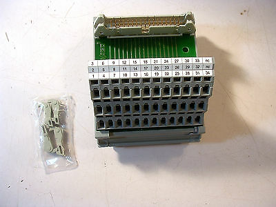 Wago 289-616 Interface Module For Flat Cable Connector Acc. To Din 41651 34 Pol