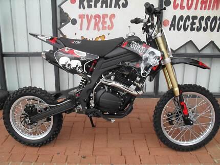 BRAND NEW*XTM 110CC 4 STROKE SEMI AUTO DIRT BIKE*FREE HELMET Malaga Swan Area Preview