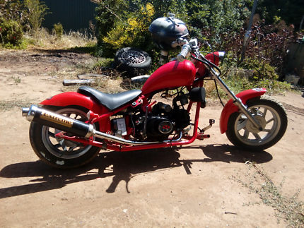 Custom chopper 125cc four stroke