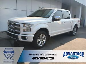 2016 Ford F-150 Platinum Leather - Trailer Tow - Active Park...