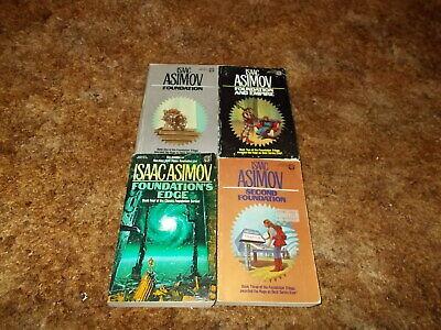 ISAAC ASIMOV~RARE COMPLETE 4 BOOK~FOUNDATION SERIES~HUGO AWARD WINNER~BEST