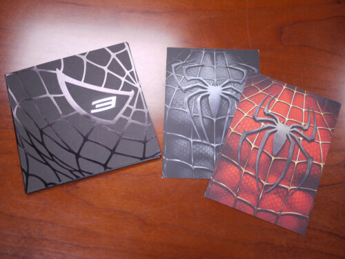 Rare* Spider-man 3 CD Press KIT + Screening Invite - NEW Tobey Maguire Sam Raimi