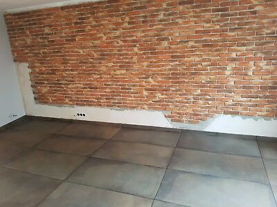 4,5m² Riemchen Verblender Ziegel Verblendstein, innen & außen