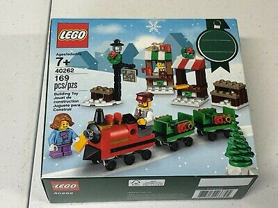 lego 40602 christmas train ride 3 minifigures new sealed rare City seasonal