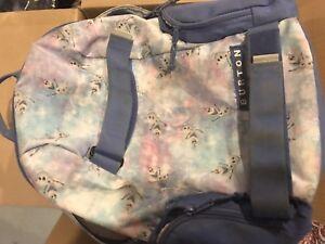 Frozen burton backpack
