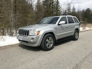 SUV Crossover Jeep Grand Cherokee Diesel Loaded Overland
