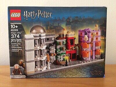 LEGO - DIAGON ALLEY - Set 40289 - New & Sealed - Ollivander - Distressed box