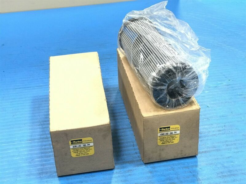 Lot of 2 New Parker 930118Q 20Q PM Replacement Filters (H5)