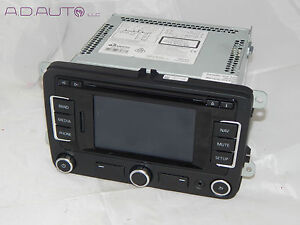vw rns 315 navigation gps unit aux sat phone bluetooth part 1k0 035 274b oem ebay. Black Bedroom Furniture Sets. Home Design Ideas
