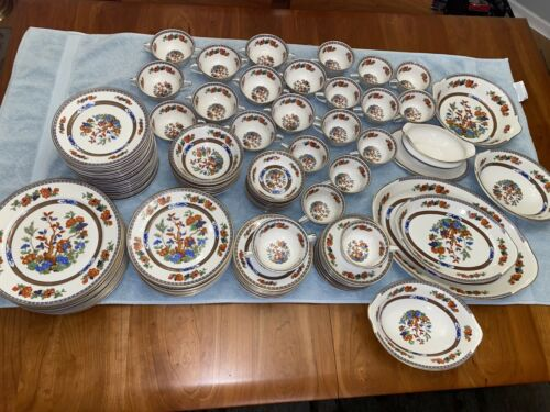 Warwick China 119 pc srvc for 12 Excellent