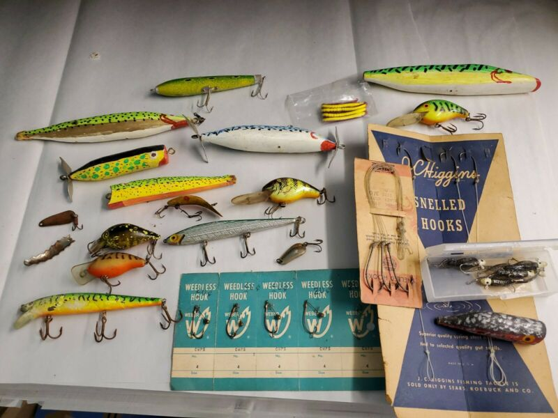 Lot of Misc Fishing supplies
