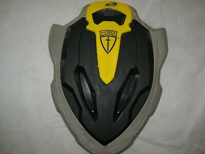 2009 Hasbro Nerf Stonewall Foam&Plastic Shield~Yellow/Black/Gray~N-Force