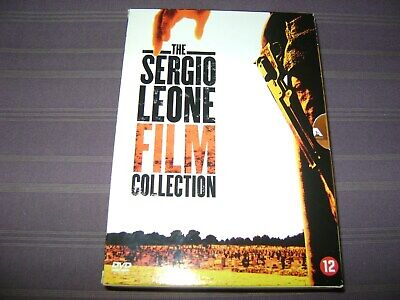 THE SERGIO LEONE FILM COLLECTION COFFRET 3 DVD (CLINT EASTWOOD)