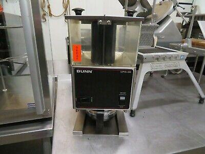 Bunn 26800.0000 Lpg2e Low Profile Grinder Portion Control Dual 3 Lbs. Hoppers