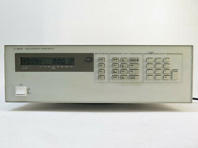 Agilent 6622a System Power Supply 80w 2 Outputs 0-50v